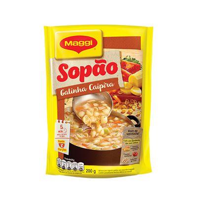 SOPÃO MAGGI 200GR GALINHA CAIPIRA