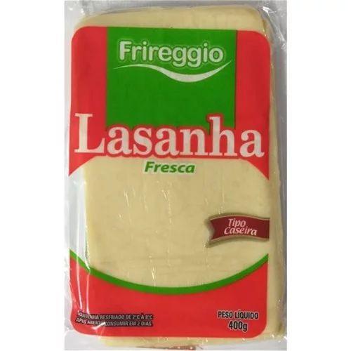MASSA FRESCA PARA LASANHA FRIREGGIO 400GR