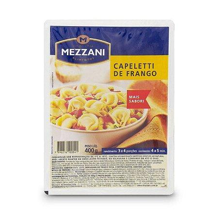 MASSA FRESCA CAPELETTI DE FRANGO MEZZANI 400GR