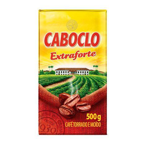 CAFE CABOCLO 500GR EXTRA FORTE VÁCUO