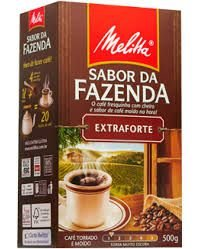 CAFÉ MELITTA 500GR FAZENDA EXT FORT