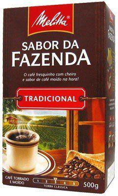 CAFÉ MELITTA 500GR FAZENDA TRADICIONAL