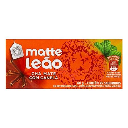 CHÁ MATTE LEÃO C/25 CANELA
