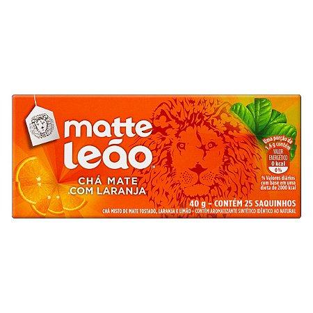 CHÁ MATTE LEÃO C/25 LARANJA