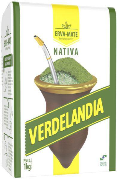 ERVA-MATE VERDELANDIA 1KG TRADICIONAL
