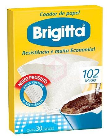 FILTRO PAPEL BRIGITTA 102 C/30