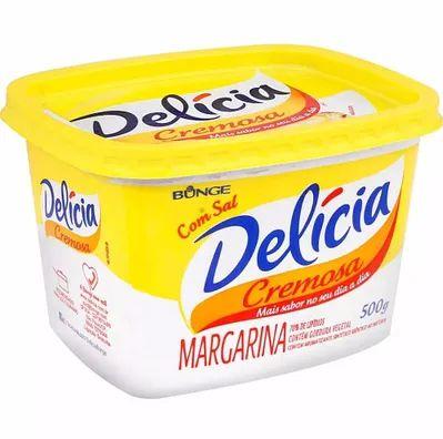 MARGARINA DELICIA 500GR C/SAL