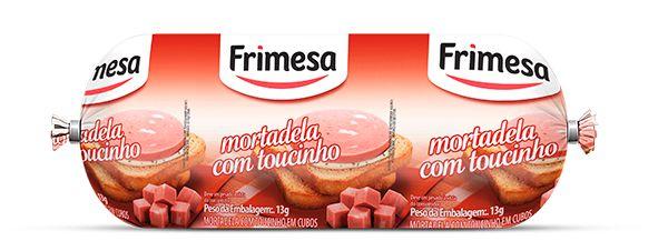 MORTADELA FRIMESA COM TOUCINHO 500GR