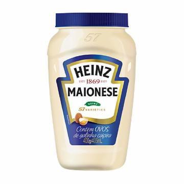 MAIONESE HEINZ TRADICIONAL 400GR