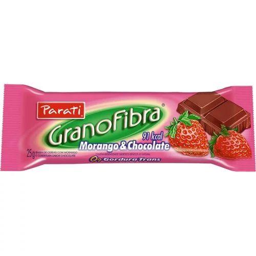 BARRA C GRANOFIBRA 25GR CHOC/MOR