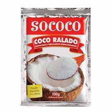 COCO RALADO SOCOCO 100GR