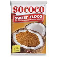 COCO RALADO SWEET COCO 100G QUEIMAD
