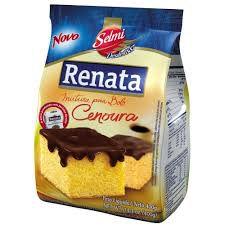 MISTURA PARA BOLO RENATA SABOR CENOURA 400GR PACOTE