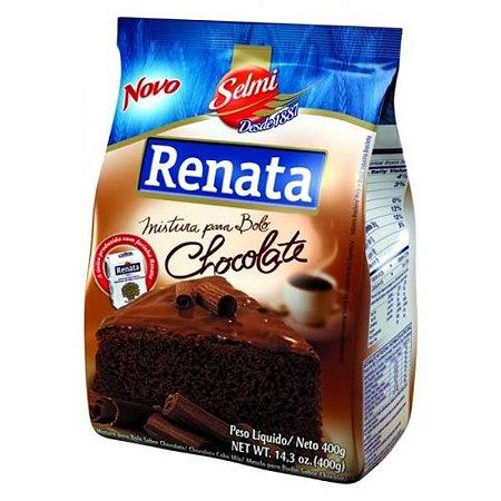 MISTURA PARA BOLO RENATA SABOR CHOCOLATE 400GR PACOTE