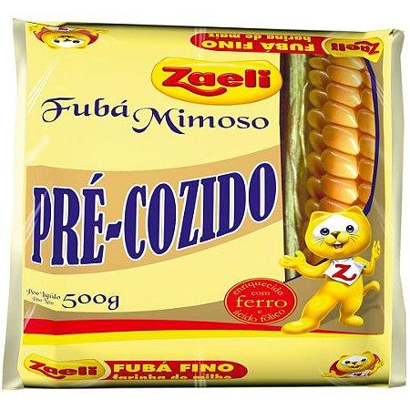 FUBÁ ZAELI 500GR PRÉ-COZIDO