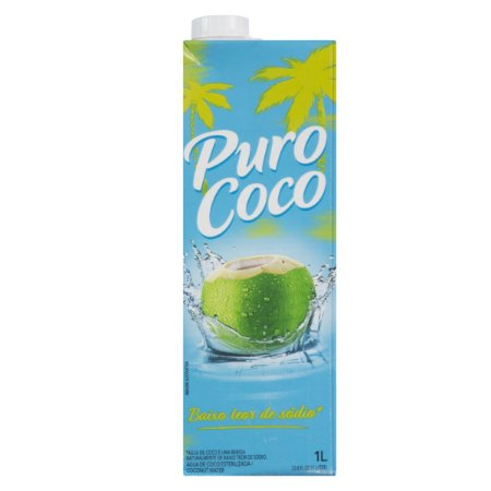 ÁGUA DE COCO PURO COCO 1LT