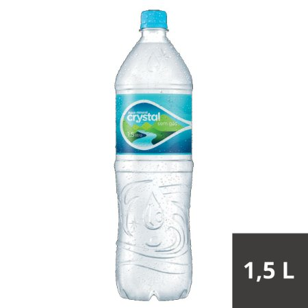 AGUA MINERAL CRYSTAL 1500ML S/GAS