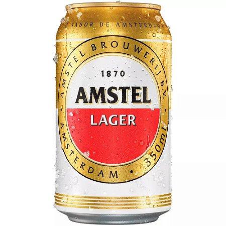 CERVEJA AMSTEL LAGER 350ML