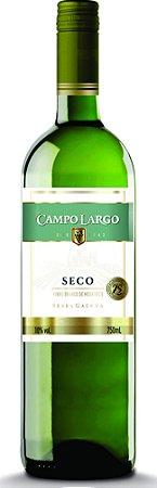 VINHO CAMPO LARGO 750ML BRANCO SECO