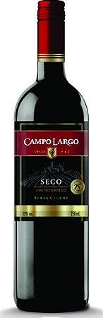 VINHO CAMPO LARGO 750ML TINTO SECO