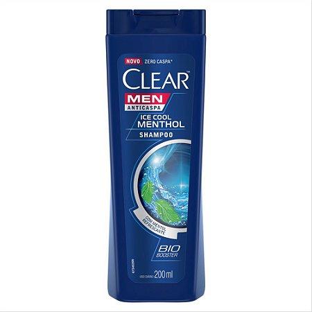 SHAMPOO CLEAR MEN 200ML ICE COOL MENTHOL