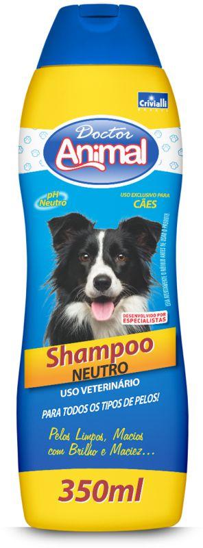 SHAMPOO DOCTOR ANIMAL 350ML CÃES NEUTRO