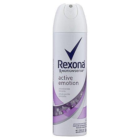 DESODORANTE REXONA AEROSSOL ACTIVE EMOTION 150ML