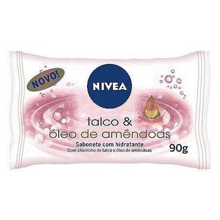 SABONETE NIVEA 85GR TALCO E ÓLEO DE AMÊNDOAS