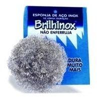 ESPONJA INOX BRILHINOX UNIDADE
