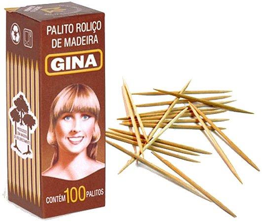 PALITO DENTAL GINA C/100 CAIXA
