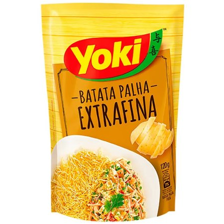 BATATA PALHA YOKI 120G EXTRA FINA