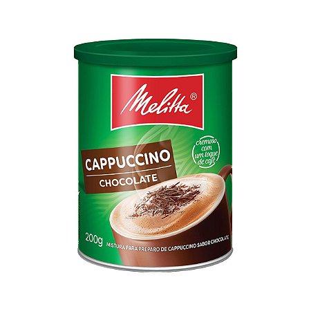 CAPPUCCINO MELITTA 200G CHOCOLATE