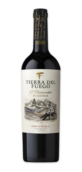 VINHO CHILENO TIERRA DEL FUEGO CABERNET SAUVIGNON