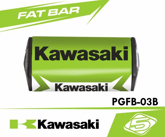Protetor de Guidão Fat Bar - Kawasaki