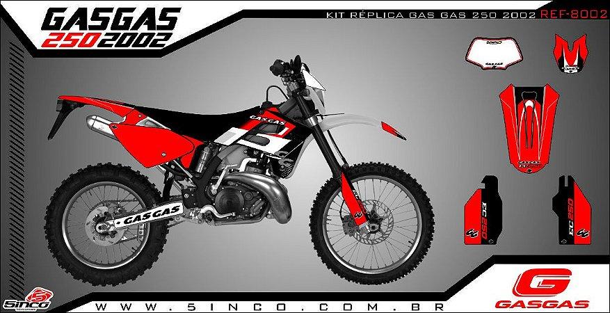 Kit Adesivo 3M REPLICA GAS GAS 250 2002