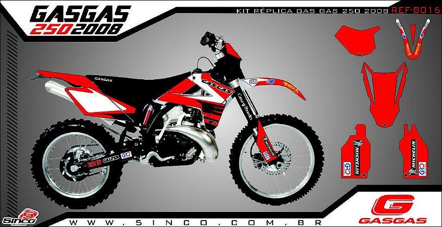 REPLICA GAS GAS 250 2008