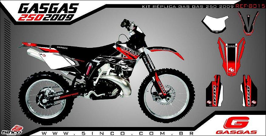 Kit Adesivo 3M REPLICA GAS GAS 250 2009