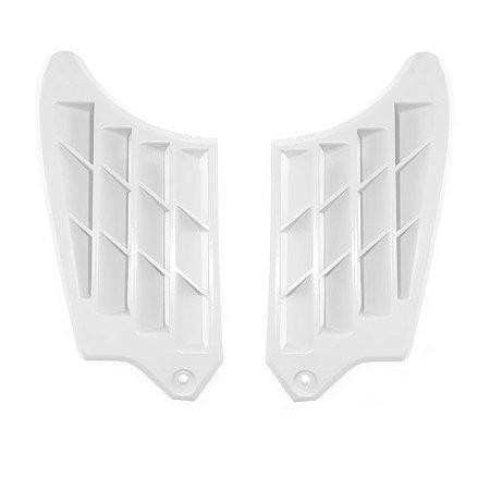 Grade De Proteção Lateral Radiador Crf 250f Biker - Branco