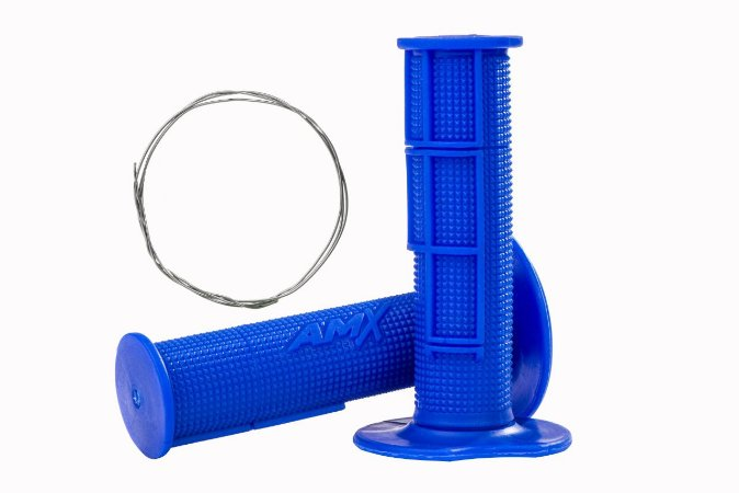 Manopla Pro Amx Flexível Top - Azul