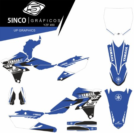 Kit Adesivo 3M Up Graphics YZ 450F