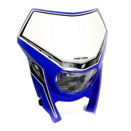 Carenagem de farol Pro Tork sem Lâmpada -  Azul