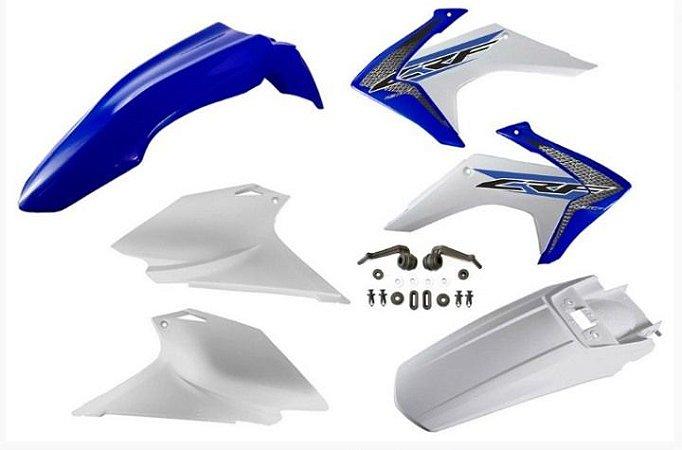 Kit Plástico Avtec Crf 230 2015 - 2018 Azul