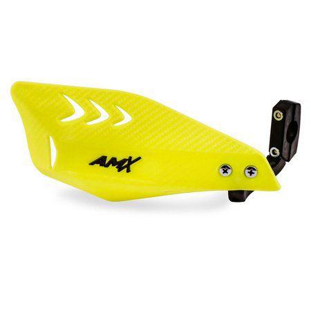 Protetor De Mão Carbon Amx Amarelo Fluor