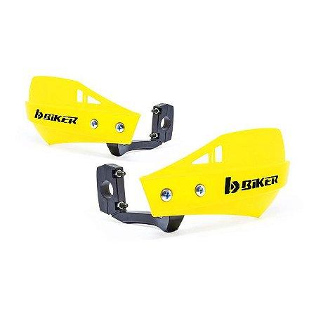 Protetor De Mão Biker Mx1 Amarelo Neon