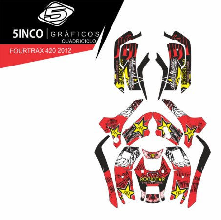 Kit Honda Fourtrax 420 Rockstar
