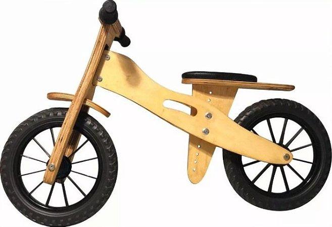 Bicicleta Infantil De Madeira Aro 12