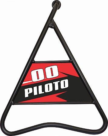 Cavalete Lateral Triangular  Personalizado - Moto Nacional