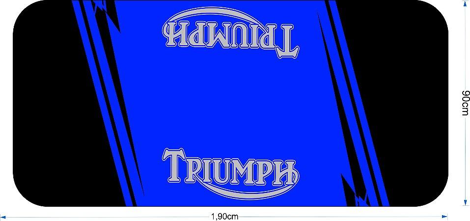 Tapete para motos Triumph