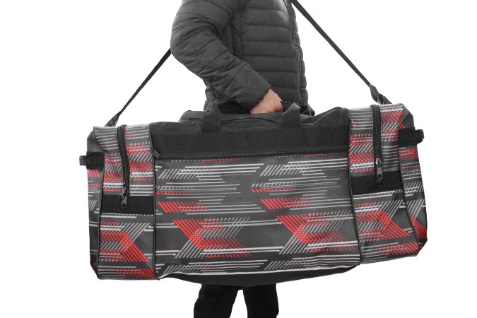 Bolsa De Equipamento Crf 230 - 5inco - Preto/ Vermelho