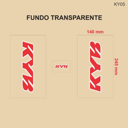 Adesivo de Suspensão KYB - KY05